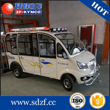 Hot sale 12 passenger second hand electric special vehicle