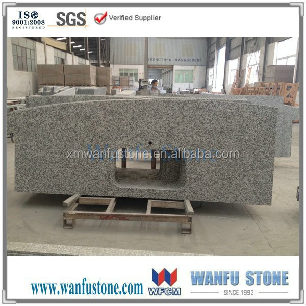 First-Class Grade and Indoor Usage Bamboo Kitchen Countertop grey granite Board
