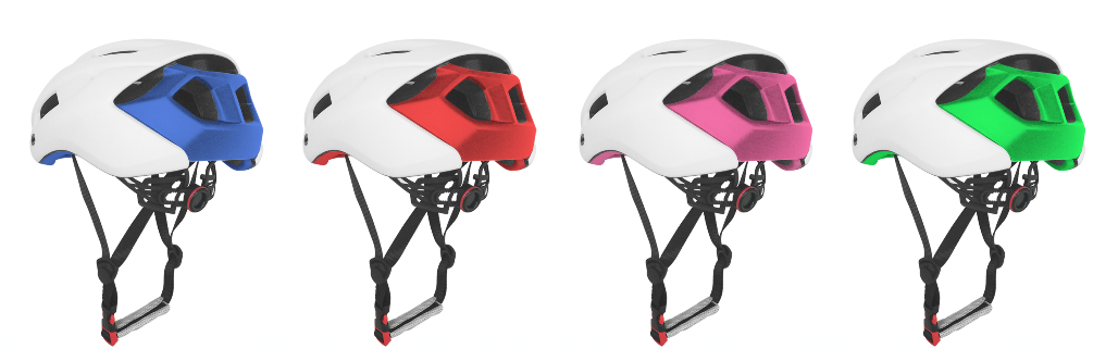 2019 slim black Enduro bicycle helmet