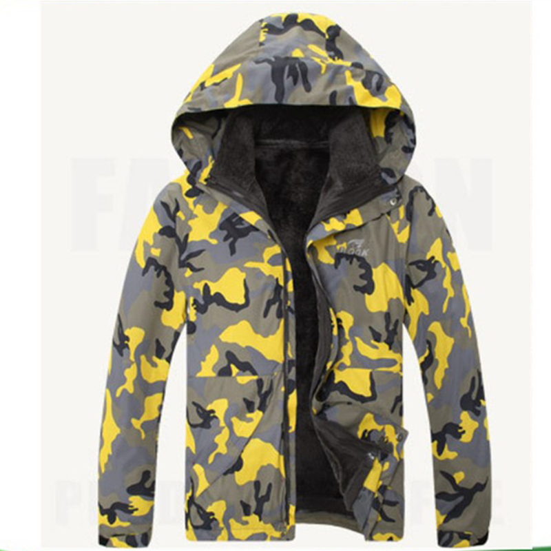 Custom made high quality winter coat men's fashion camouflage sport jacket