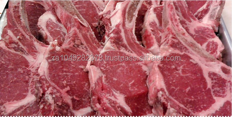 Fresh frozen meat beef