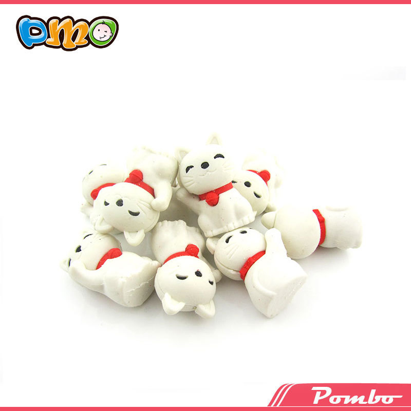 Latest ! Fancy cheap eraser electronic eraser animal shape