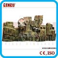 Outdoor playground theme amusement dinosaur park wall
