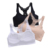 2018 lace splicing pure color non-adjusted straps ladies wrapped chest breathable bra