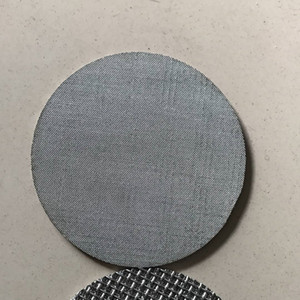 Monel hastelloy 316L sintered porous stainless steel filter 10 micron filter disc