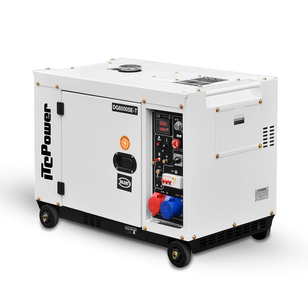 Good price 5kva single phase silent diesel generator