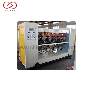 LXC-150E Thin Blade Slitter Scorer with Electrical Control for corrugated cardboard production line