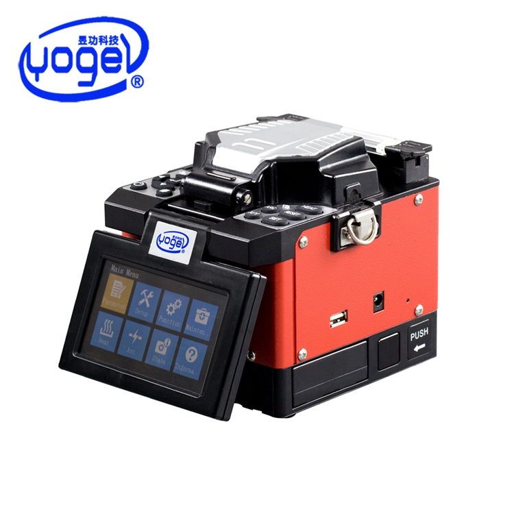 New Design Small Size Lightweight Core Alignment Ftth Fiber Optic Fusion Instrument Mfs T60 Splicer Single Fiber Fusion Splicer Dependable Performance Communication Equipments Fiber Optic Equipments