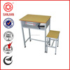 SJ-138 wholesale school furniture single seat students desks and chairs