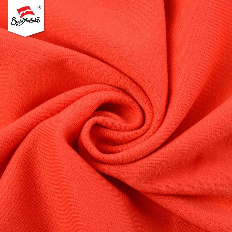 Fashionable T/R ponte roma custom design polyester wholesale spandex fabric