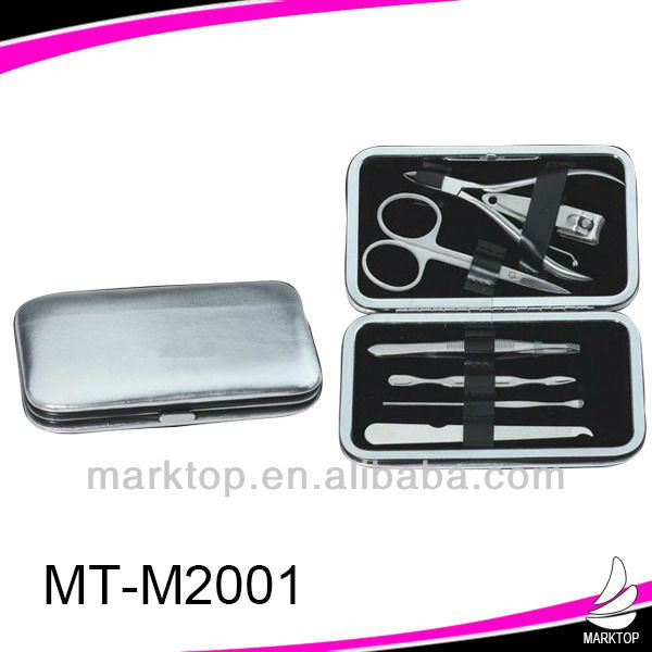Exquisite silver manicure set