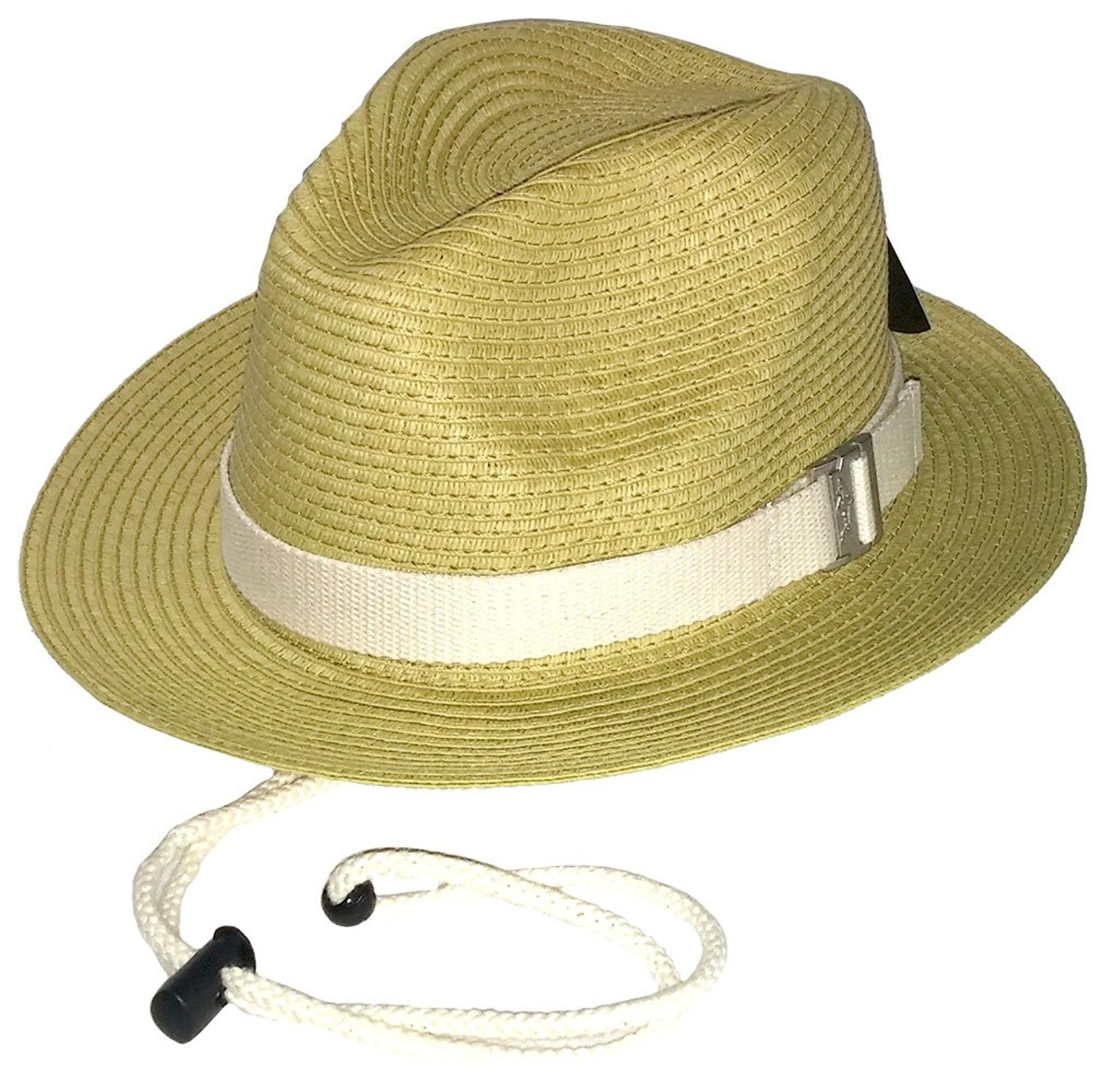 9a86aff085e Get Quotations · GREG NORMAN SHARK Branded Men s Straw Hat - GNS004 -  Natural