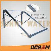 Stainless steel /Galvanized Steel/Aluminum Alloy solar water heater bracket/frame/support/stand