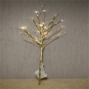 factory price outdoor led willow branch lights battery operated