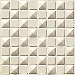 New Ceiling Tile #123 White Matt Cheap 2x2 Modern Faux Tin Plastic Fire Rated Can Be Glue on Any Flat Surfase