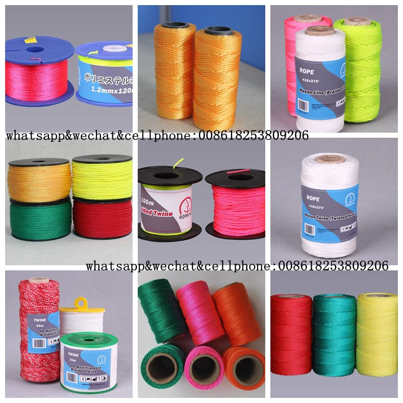 The most popular pp polyester nylon braided construction twine from Rope Net Vicky //M:8618253809206 E:ropenet16@ropenet.com
