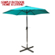 High Quality Chinese Parasols Manufacturing Promotion Beach Sun Parasol 6 Ribs Beach Umbrella Sun Garden Parasol Umbrella