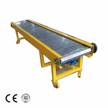 High performance scrap steel conveyor used in industry