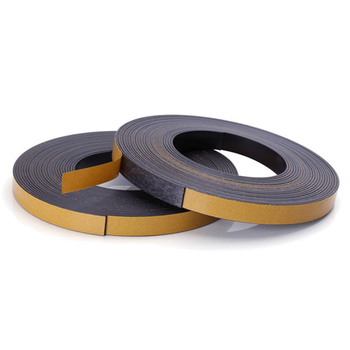 Customized Isotropic Flexible Magnetic Tape/ Rubber Magnet with Self-Adhesive