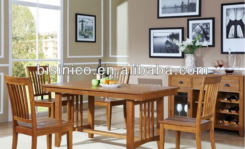 Bisini dining set engels landelijke stijl eetkamer meubels set tafel en stoelen eetkamer sets - Meubels set woonkamer eetkamer ...