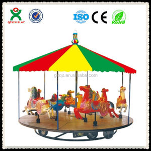 Fine Quality 16 seats carousel for sale/amusement park games factory/thrill rides for sale/QX-127A