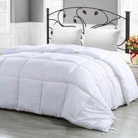 Twin Comforter Duvet Insert White , Down Alternative Comforter, Protects Against Dust Mites and Allergens