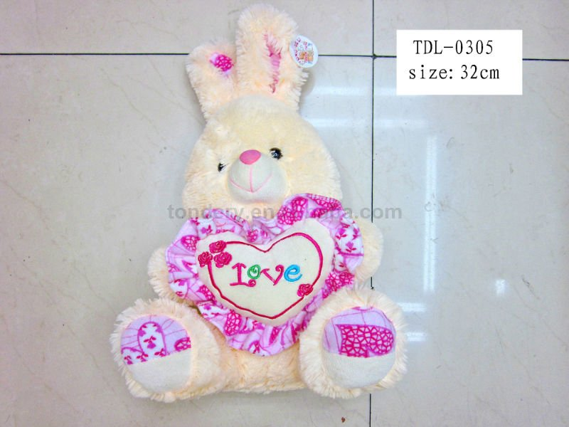 beautiful rabbit plush toy/promotion plush toy/stuffed plush toy