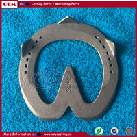 high quality new design casted horseshoe set for horses