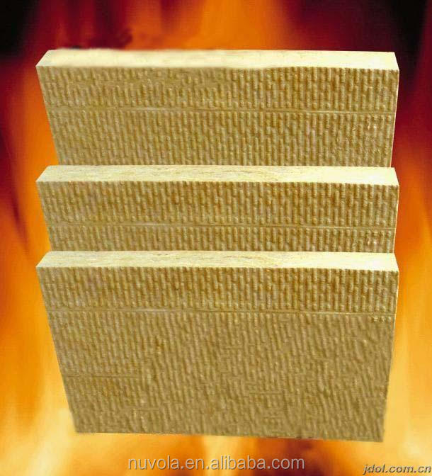 Curtain Wall Fire Stop Rock Wool Board