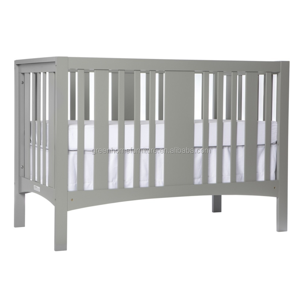 5 in 1 Pine wood Convertible baby crib