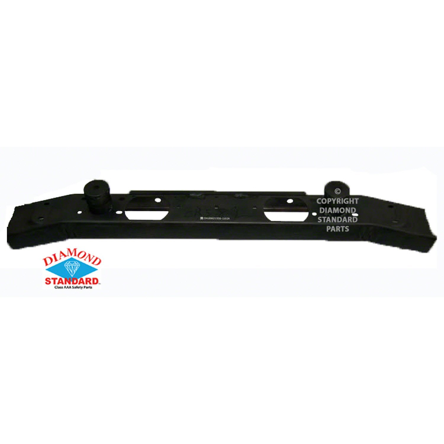 Paint To Match CAPA Front Bumper Reinforcement for 2007-2015 Jeep Wrangler