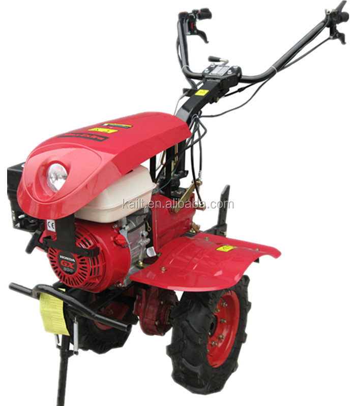 Hill agricutural machine and gasoline engine tiller