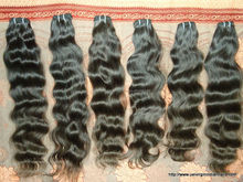 7a 100% unprocessed virgin Indian hair extension weft Factory price indian hair,virgin indian hai wholesaler