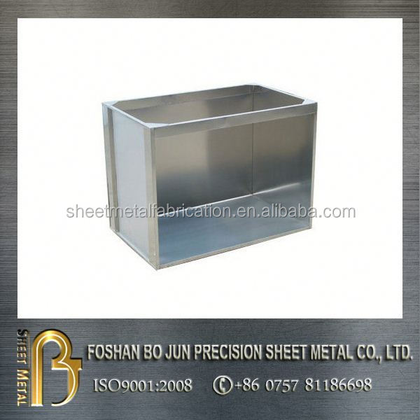 Precision stainless steel electric control box/panel high quality fabrication