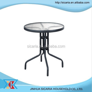 cafe/bistro outdoor glass table