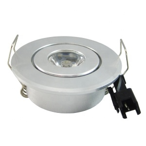 2018 new design mini led downlight 1w 3w 12v 110v 220v recessed cabinet light