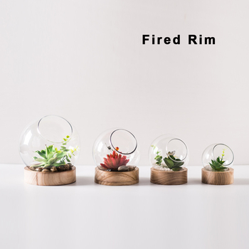 Wholesale Cheap Flower Pot Plant Pot Round Glass Ball Terrarium With