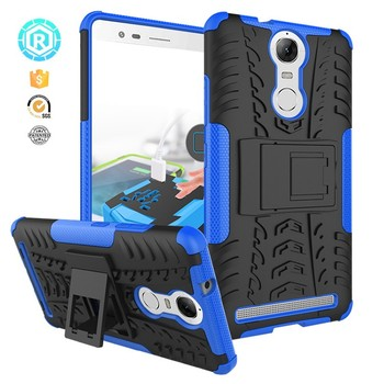 san francisco 3ea16 c2faf 360 Degree 2 In 1protective Shockproof Tpu Pc Hybrid Phone Case For Lenovo  K5 Note Lite Cover With Foldable Kickstand Airbag - Buy Tpu Phone Case For  ...