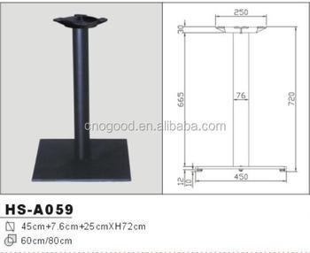 Iron One Table Leg, Base Cast Iron Table Leg