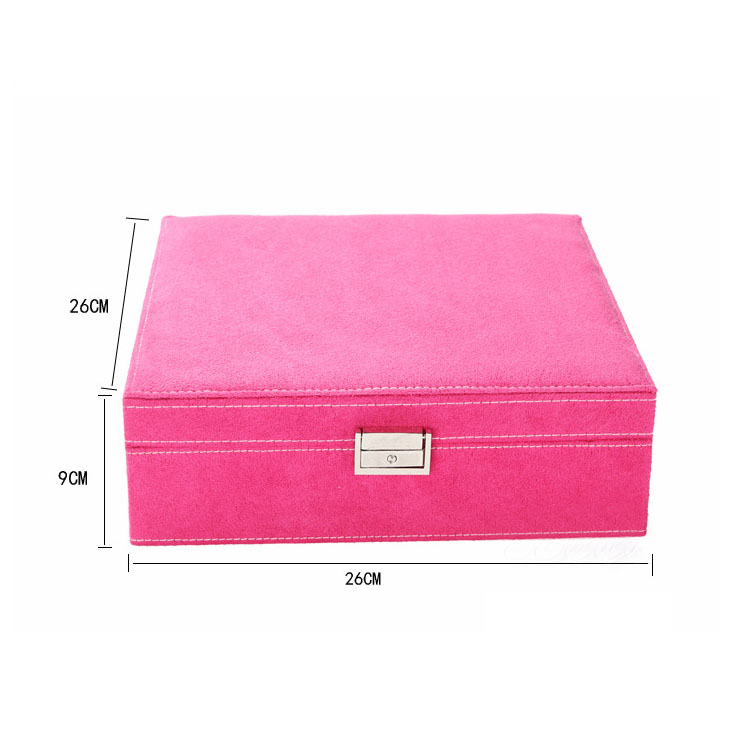 2019 New Arrival Amazon Hot Sale Necklace Storage Jewelry Display Organizer Case for Girls and Women