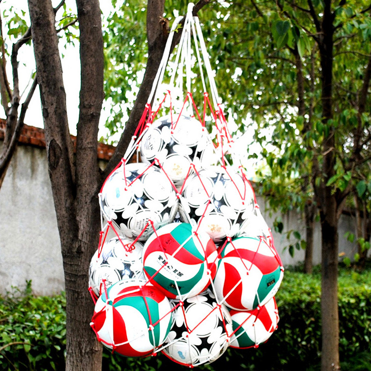 Portage de balle Net Basket-Ball ballon De Football Volley-ball Sac de Transport/Filet de Grande Taille