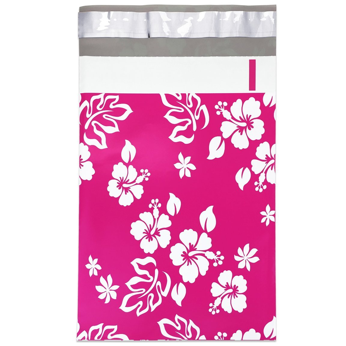 Poly Mailers Aloha Designer Hawaiian Desigenr Mailers Shipping Envelopes Pink Boutique Custom Bags #SmileMail (100 6x9)