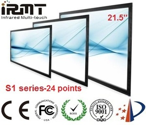 Factory supply!!! IRMTouch 24 touch points 21.5 inch touch screen panel kit