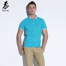 Popular Style embroidered logo man polo t shirt