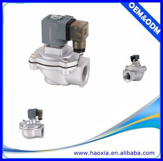 DMF-Z-40S AC220V Alloy Air Pneumatic Pulse Valve For Clean Air