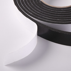 Heat resistant single sided insulation foam tape adhesive