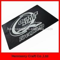 rubber soft pvc 3D small moq custom pvc door mat