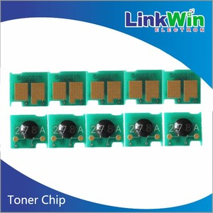 Universal toner chip for HP CE250A/CE250X toner reset chip with 10 5k/5K  black