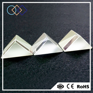 Yuanqian customized high clear right angle prism coated & uncoated
