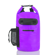 New Products Amazon Hot Sell Custom Logo 20L 30L PVC Tarpaulin Bag Ocean Pack Waterproof Dry Pack